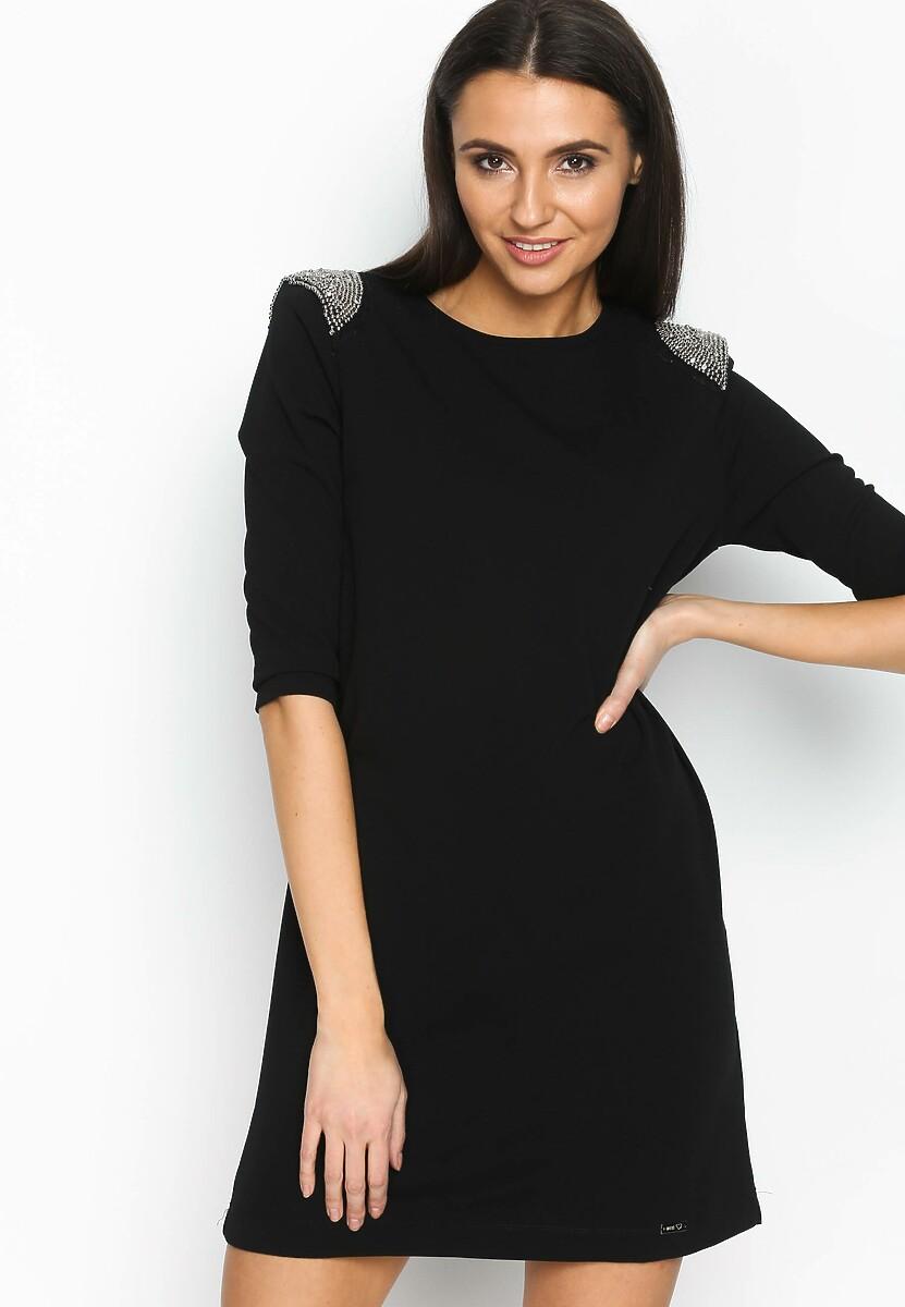 Czarna Sukienka So Classy