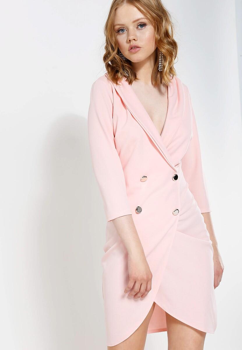 Różowa Sukienka Born To Move