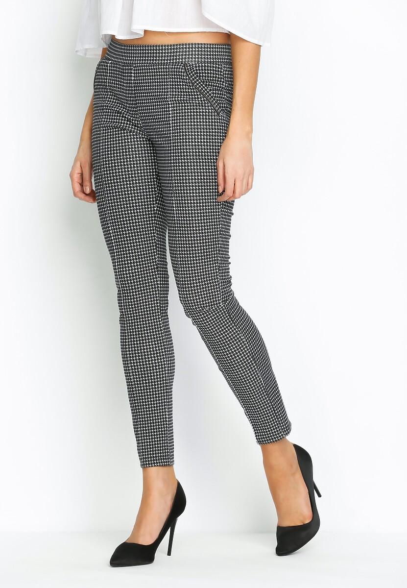Czarne Spodnie Easy Shape