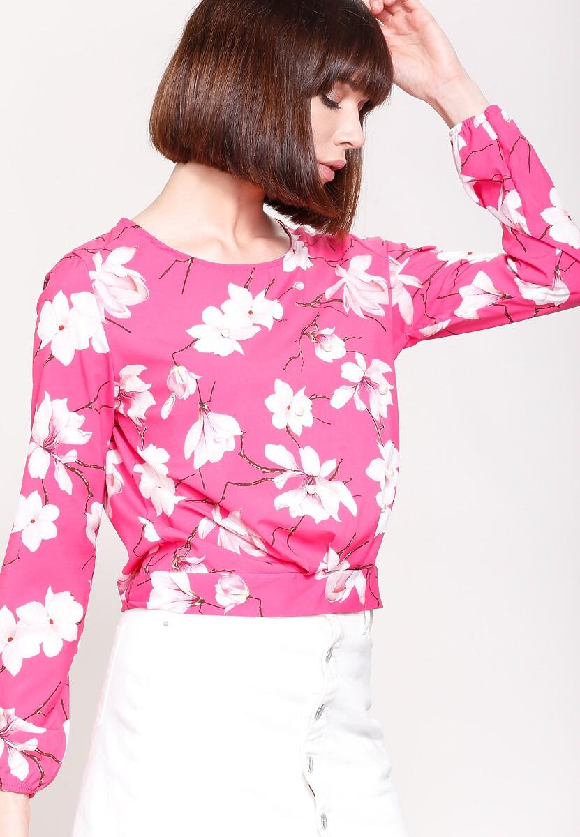 Fuksjowa Bluzka Fresh Blossoms