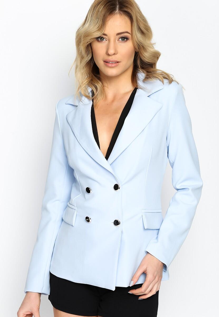Niebieska Marynarka Urban Chic