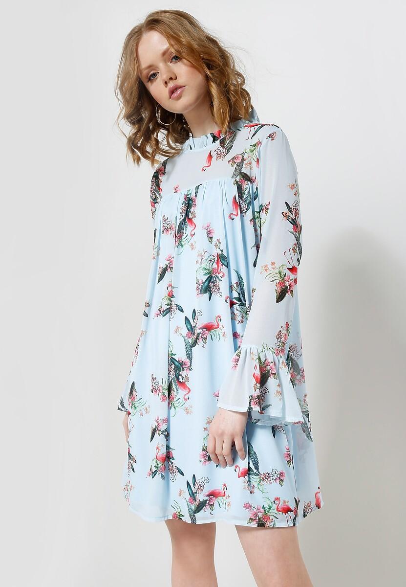 Niebieska Sukienka Lady Bird's