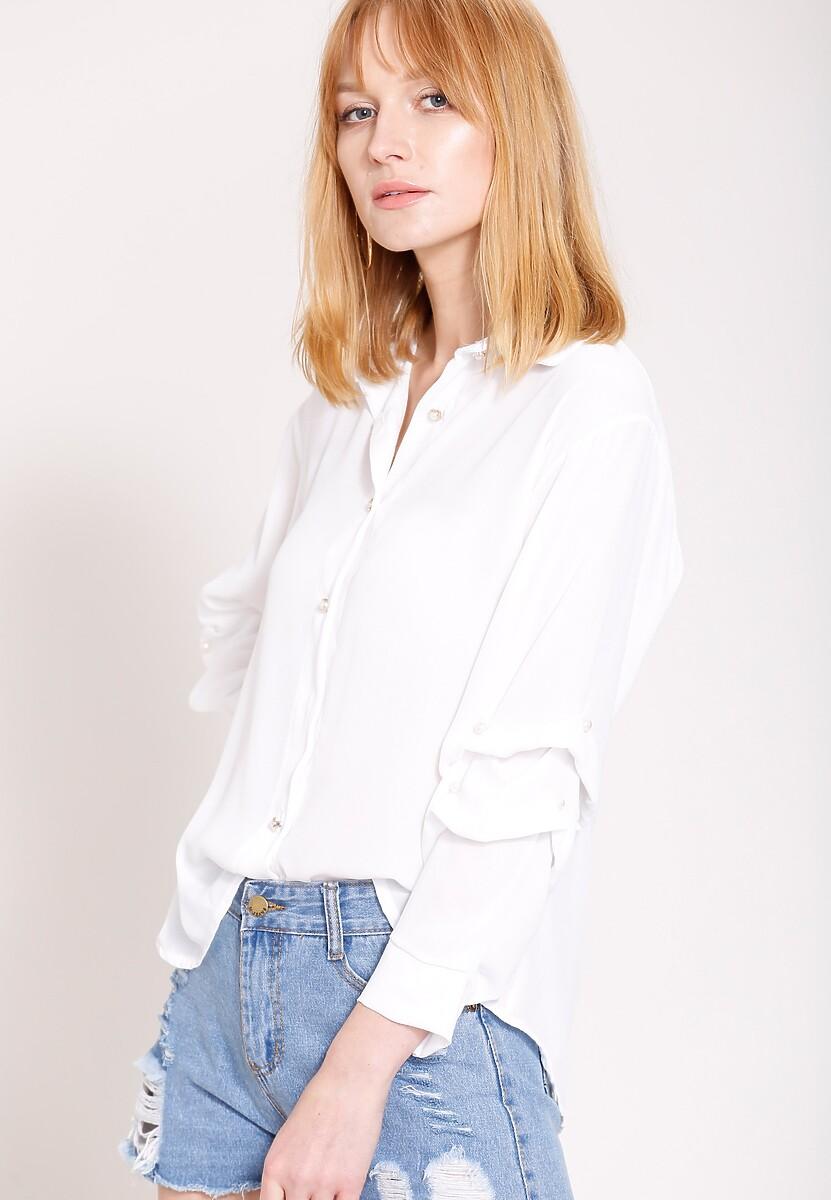 Biała Koszula Tiger's Mood