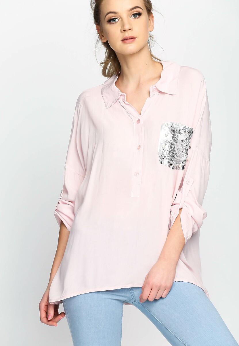 Różowa Koszula Iberis