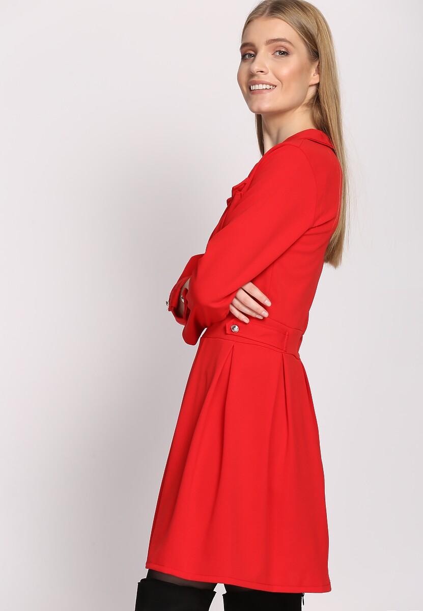 Czerwona Sukienka Believe It