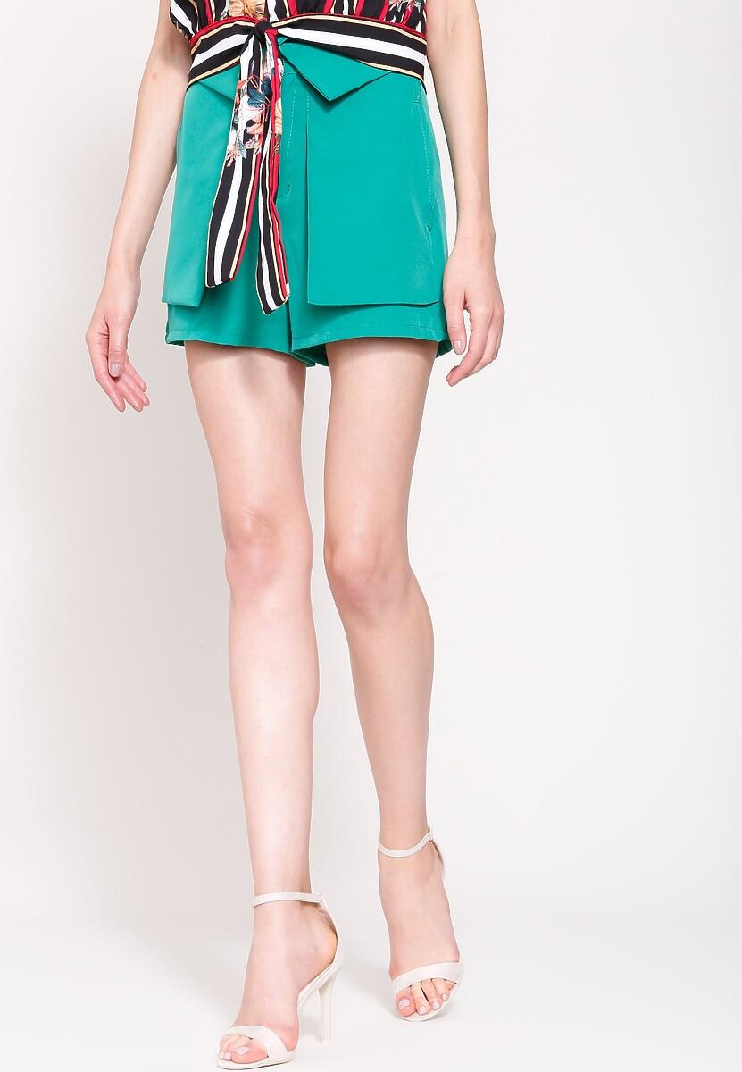 Zielone Szorty Wonderfull Design