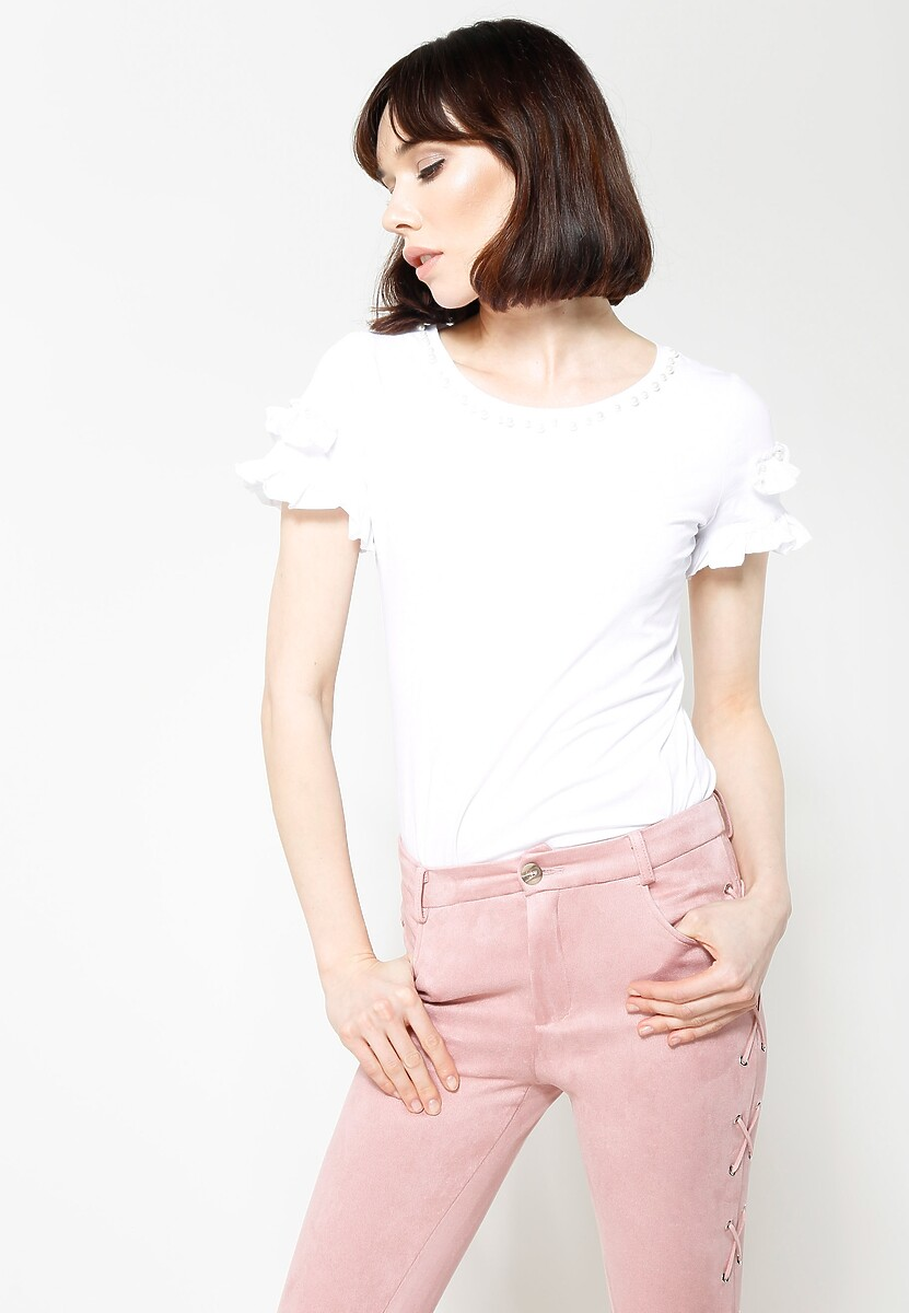 Biała Bluzka Swish Swish