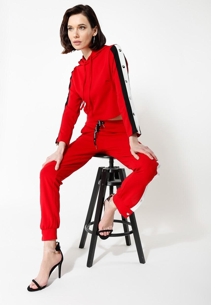 Czerwona Bluza Ultra Sporty