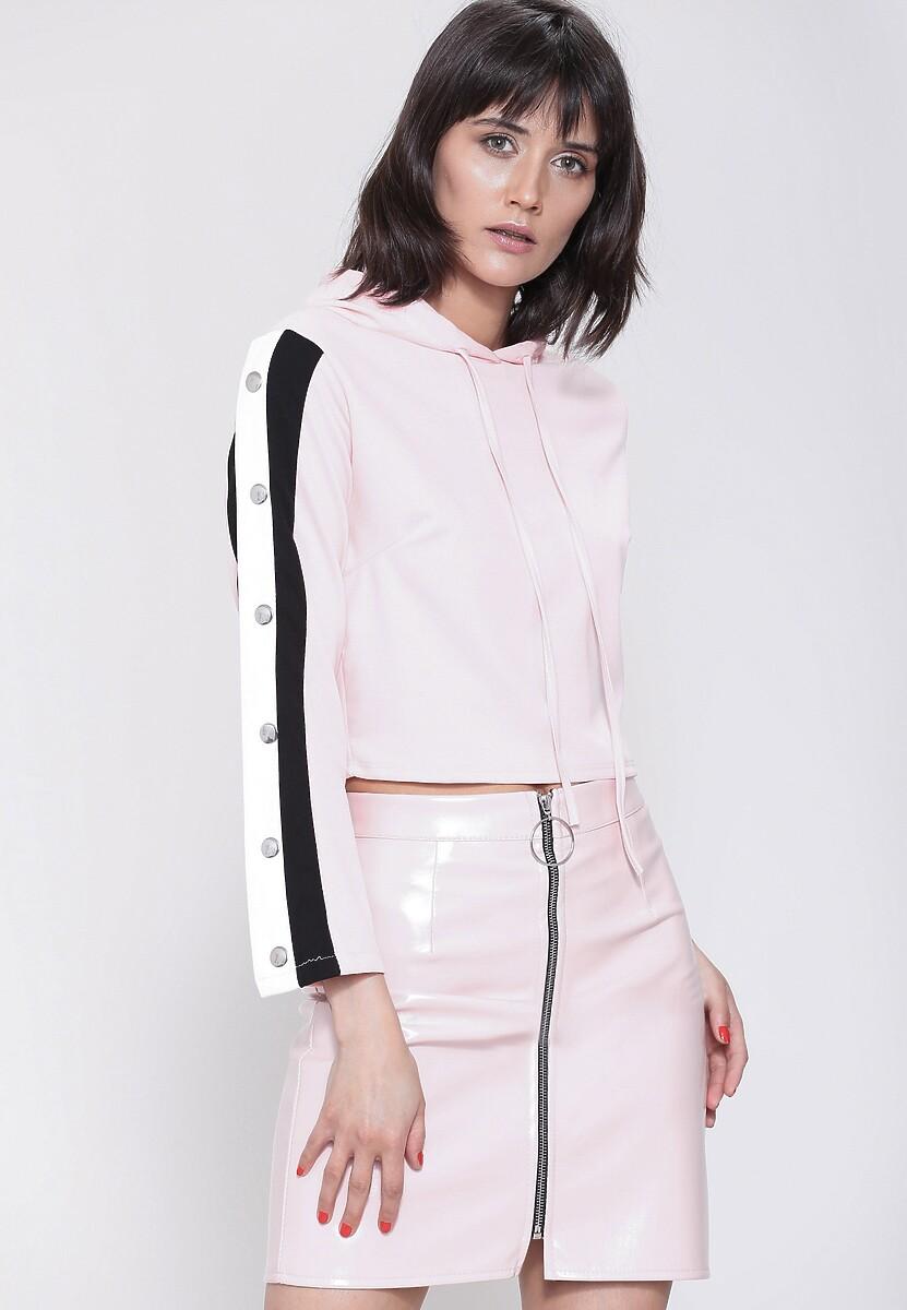 Różowa Bluza Ultra Sporty