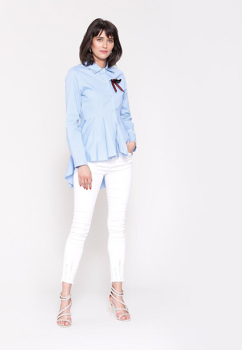 Niebieska Koszula More and More