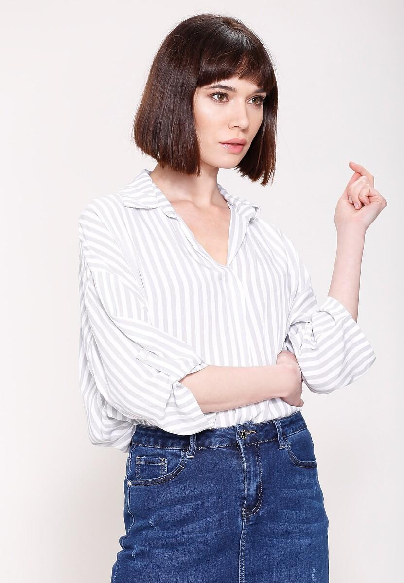 Szara Koszula Simply Cut