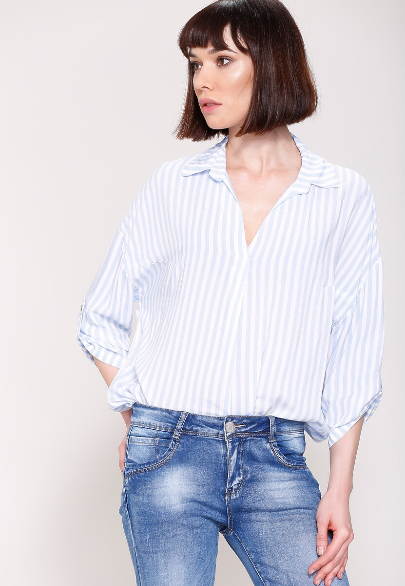 Jasnoniebieska Koszula Simply Cut