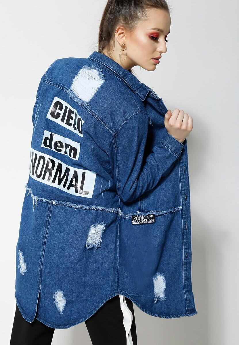 Niebieska Koszula Mark Your Style