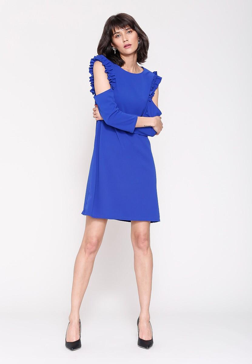 Niebieska Sukienka One The One