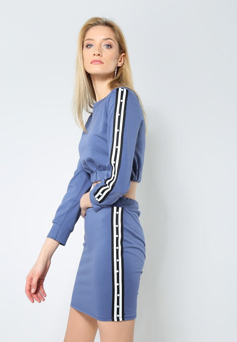 Niebieski Komplet I Want It
