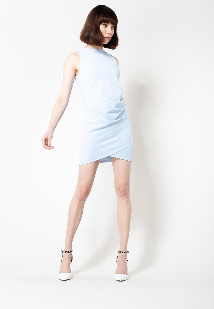 Niebieska Sukienka Poematic