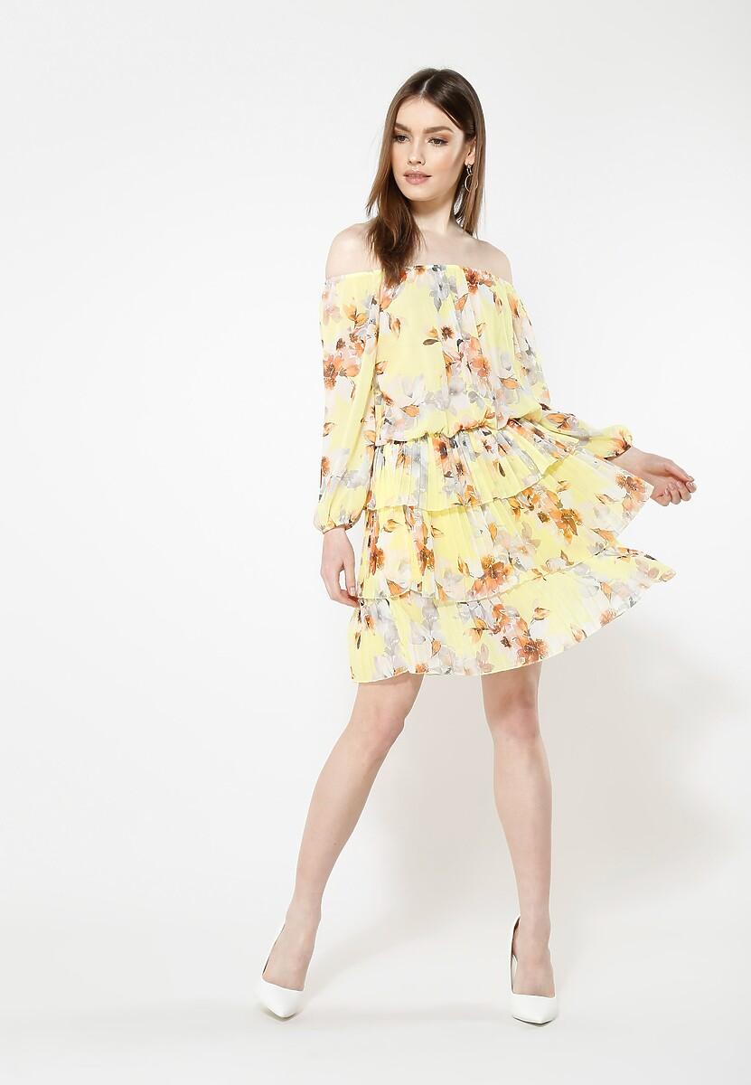 Żółta Sukienka Glade
