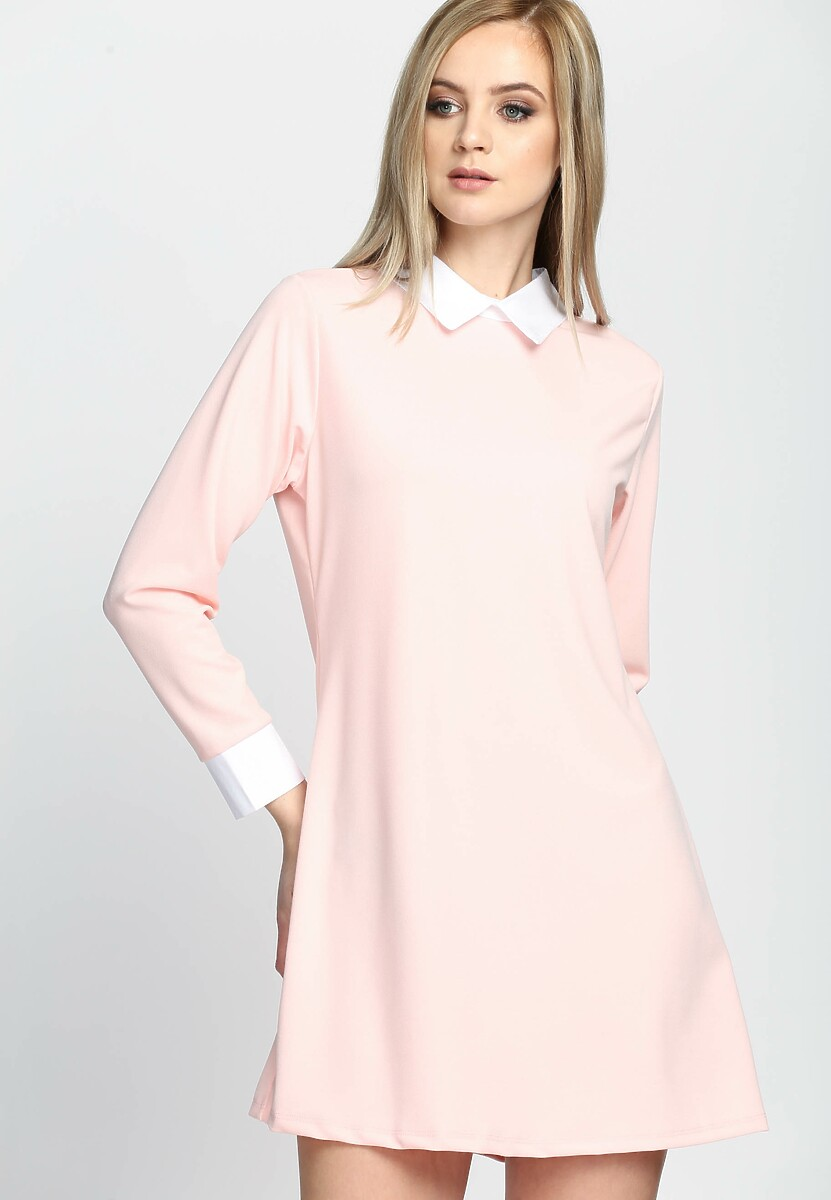 Łososiowa Sukienka Perfect Day