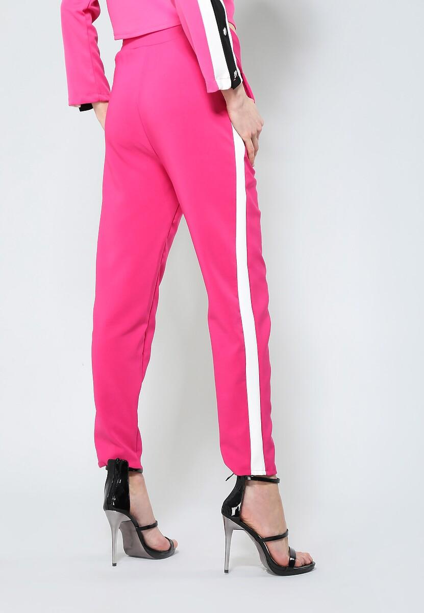Fuksjowe Spodnie Perfect Look