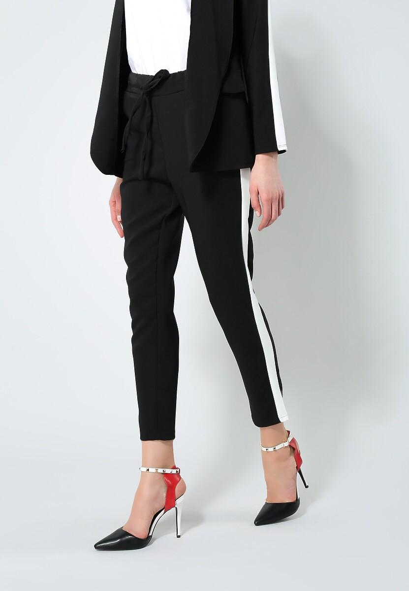 Czarne Spodnie Perfect Look