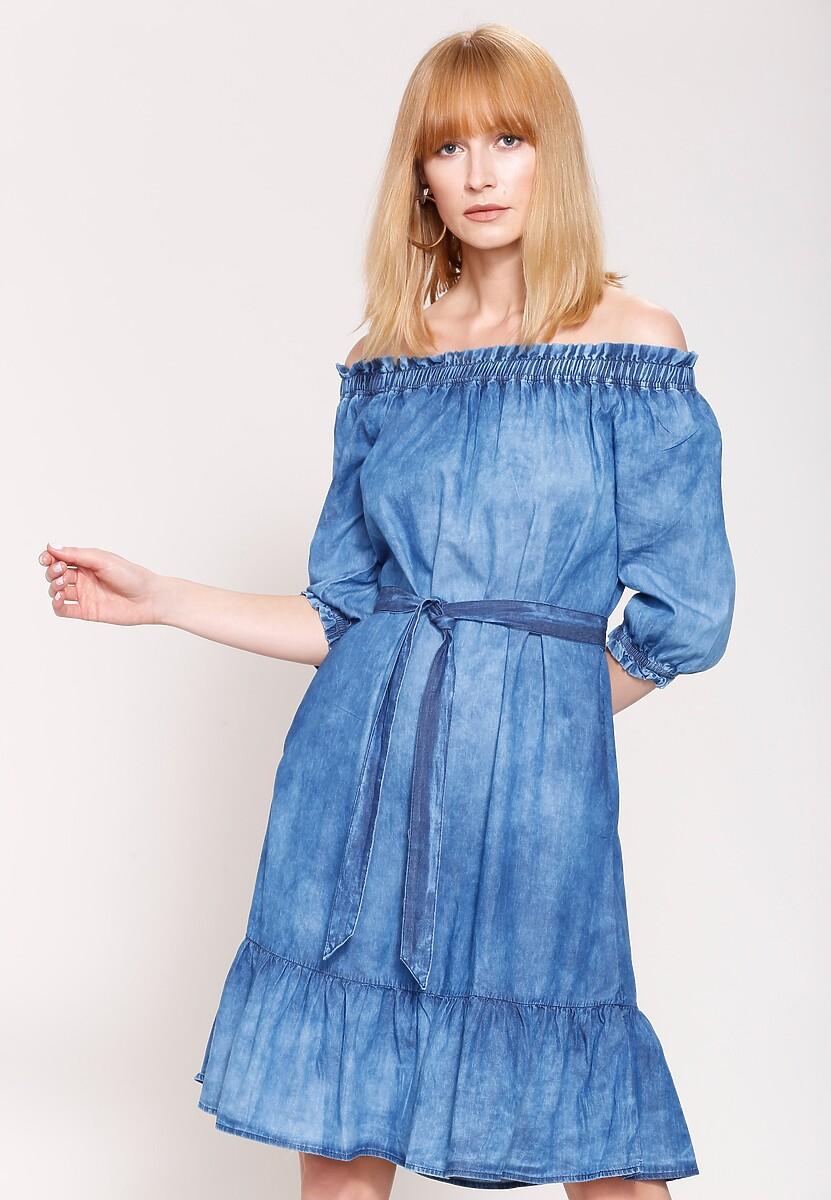 Niebieska Sukienka My Sister