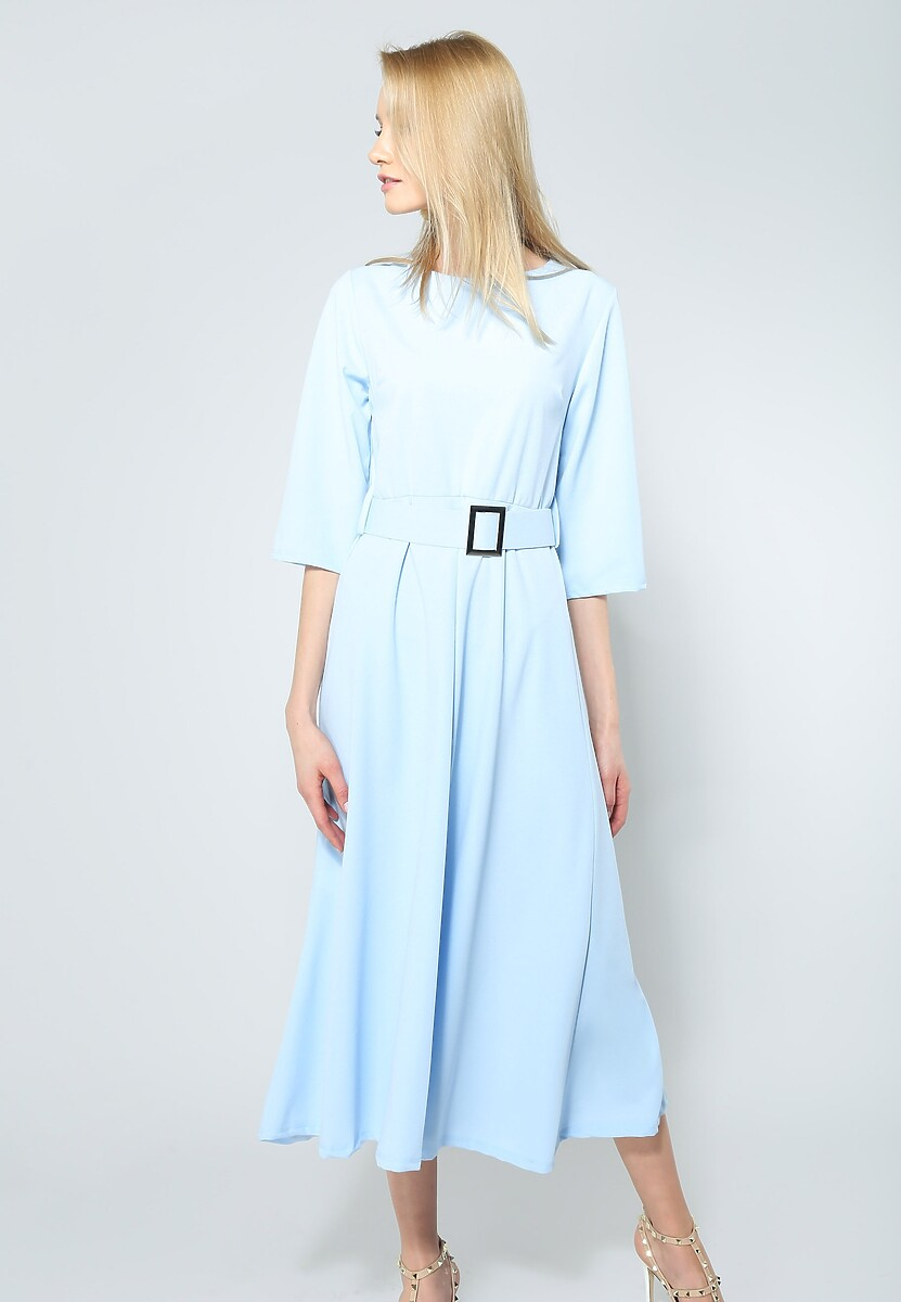 Niebieska Sukienka Your Choice