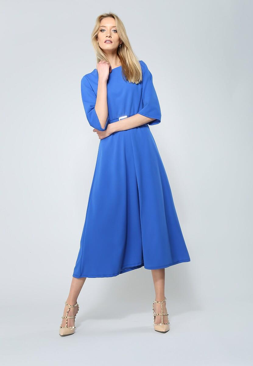 Kobaltowa Sukienka Your Choice
