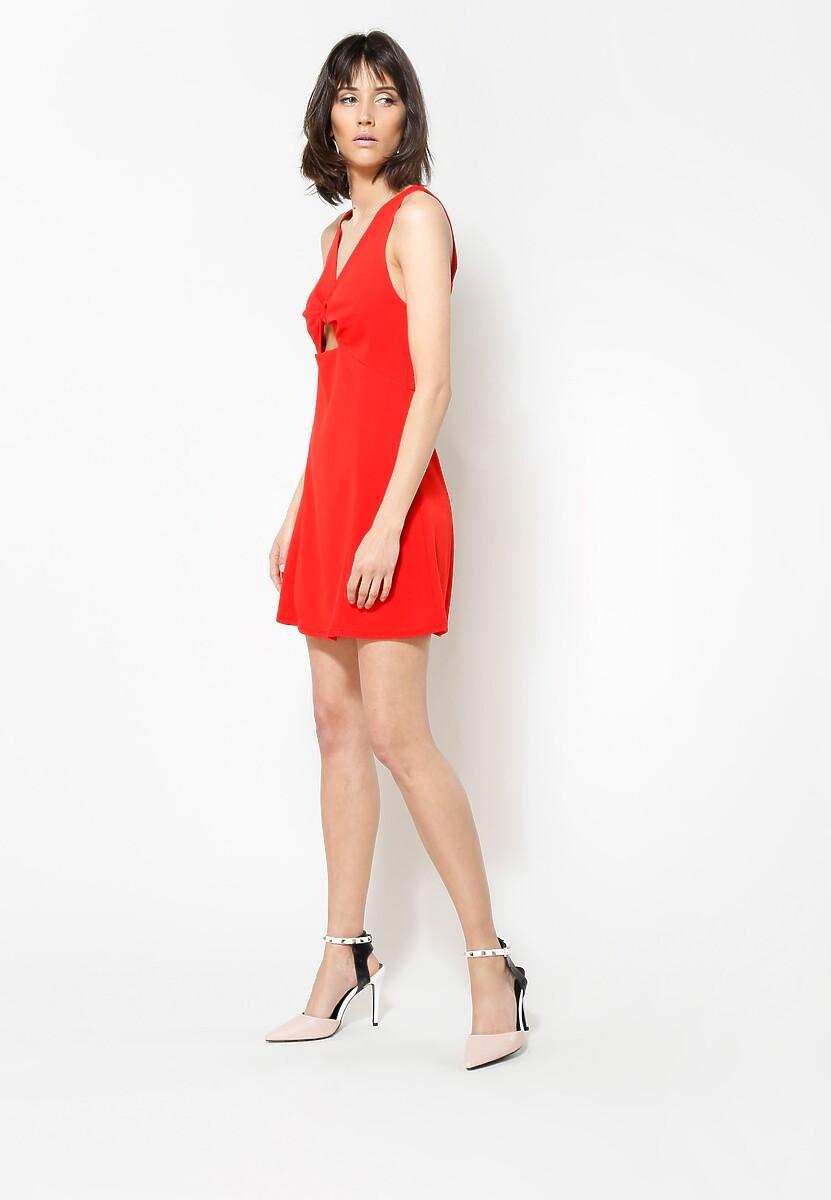 Czerwona Sukienka Hello Girl!