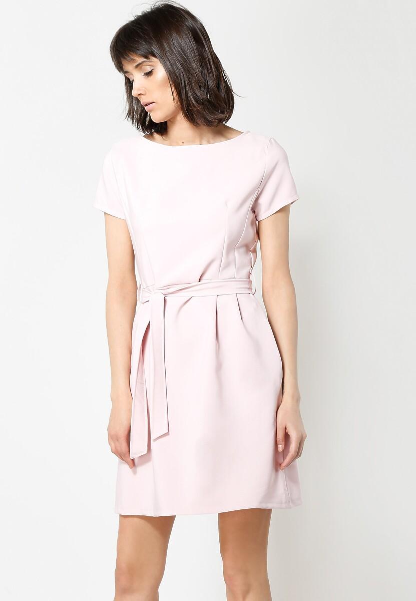 Różowa Sukienka Hit Me Up