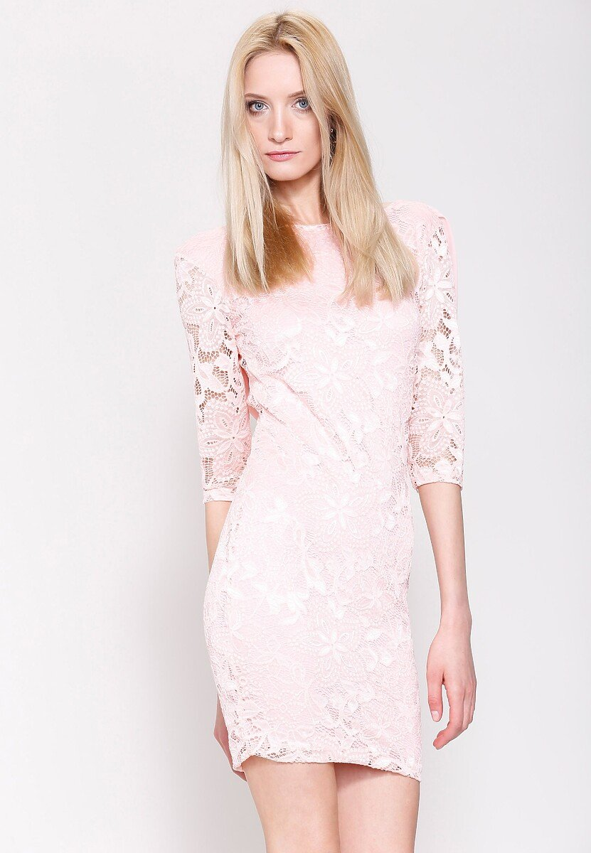 Różowa Sukienka So Good to Me