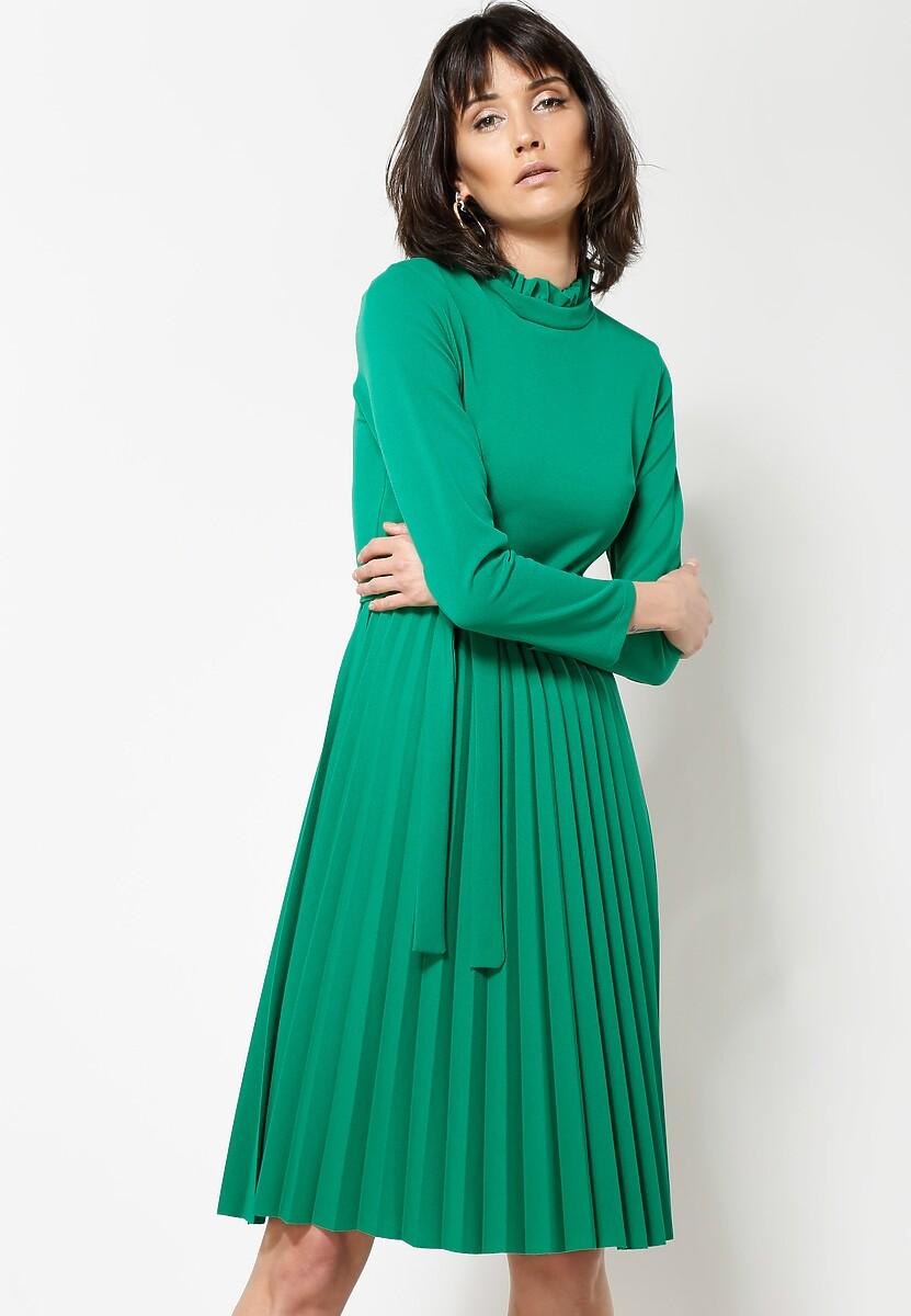 Jasnozielona Sukienka For You