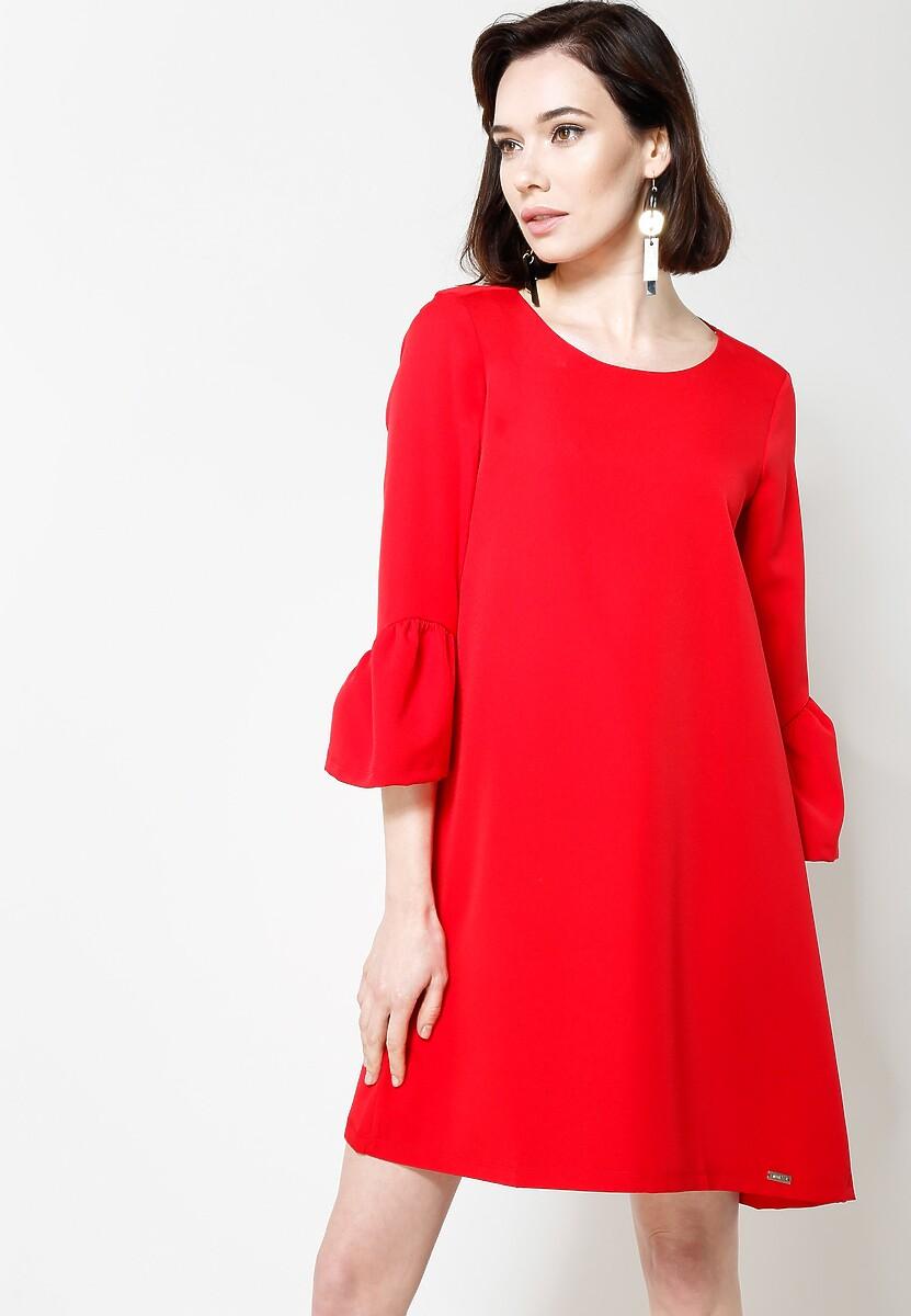 Czerwona Sukienka Paradiseee