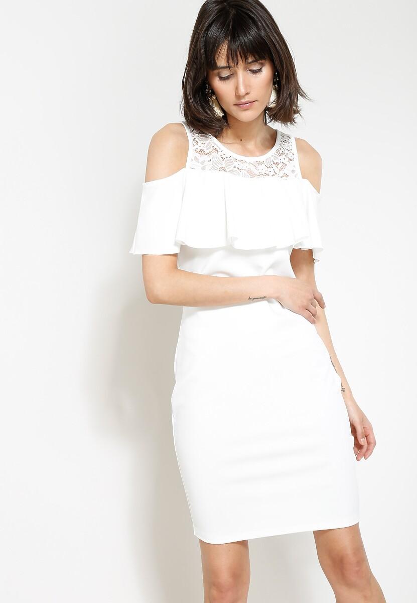 Biała Sukienka You Gotta Move