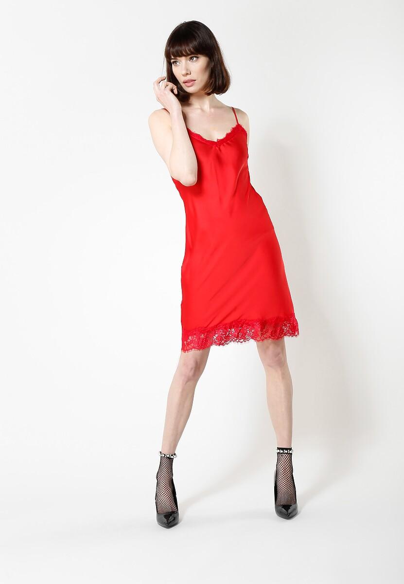 Czerwona Sukienka Pretty Girls