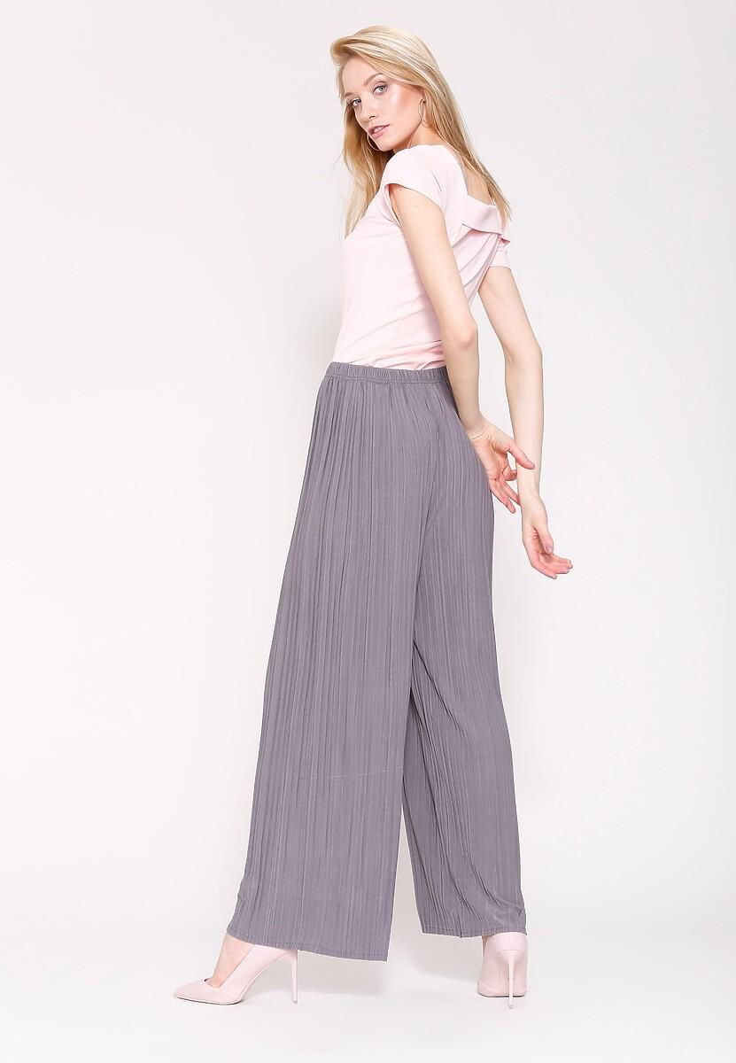 Szare Spodnie Right on Time