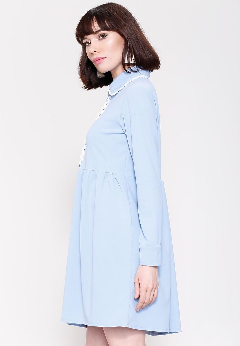 Niebieska Sukienka Holiday