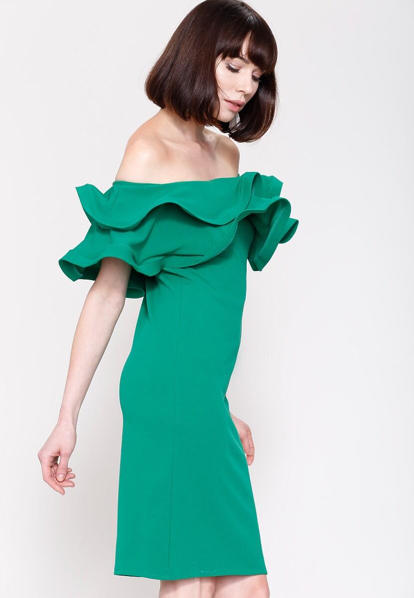 Zielona Sukienka Love Them