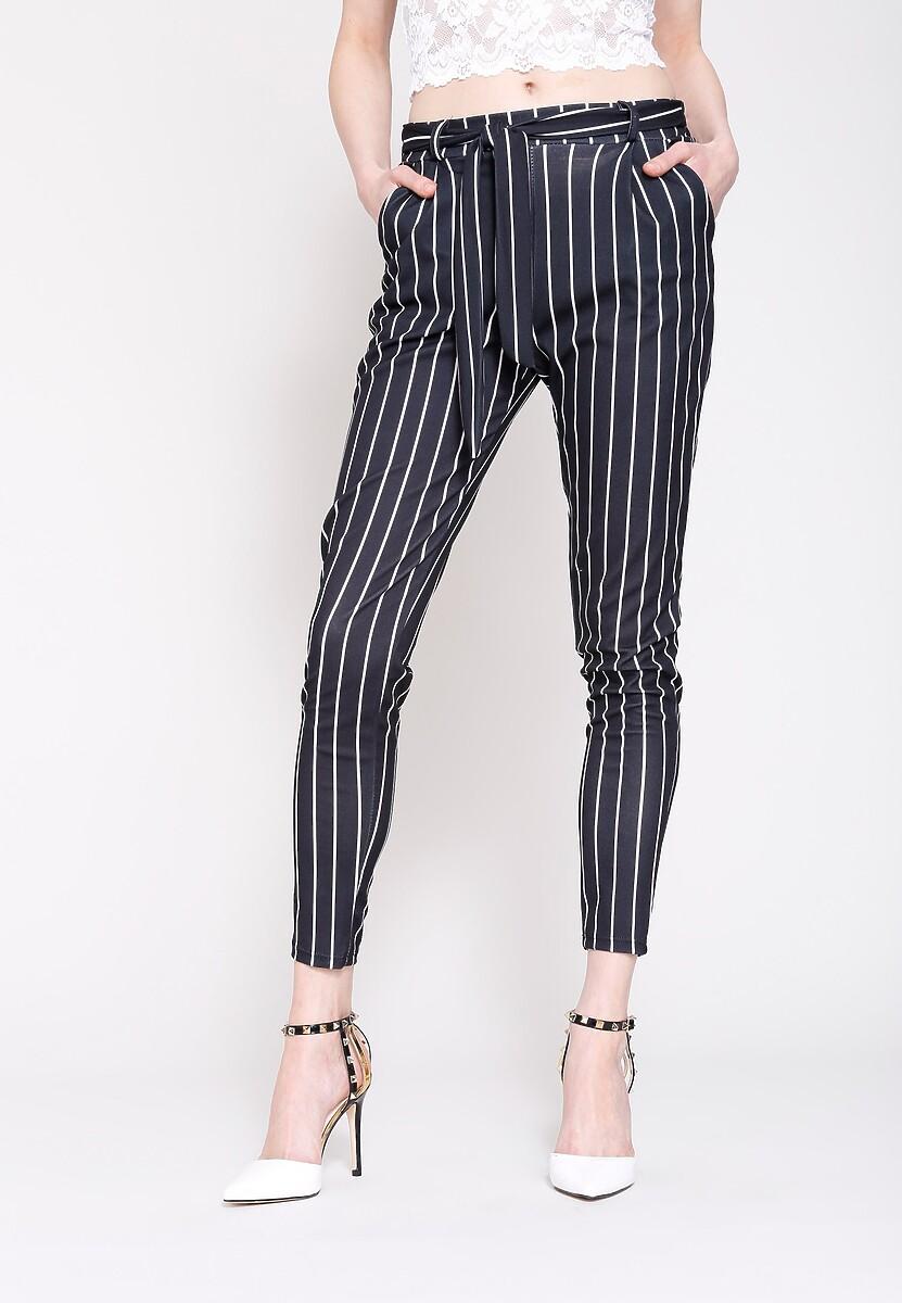 Czarne Spodnie Go For It