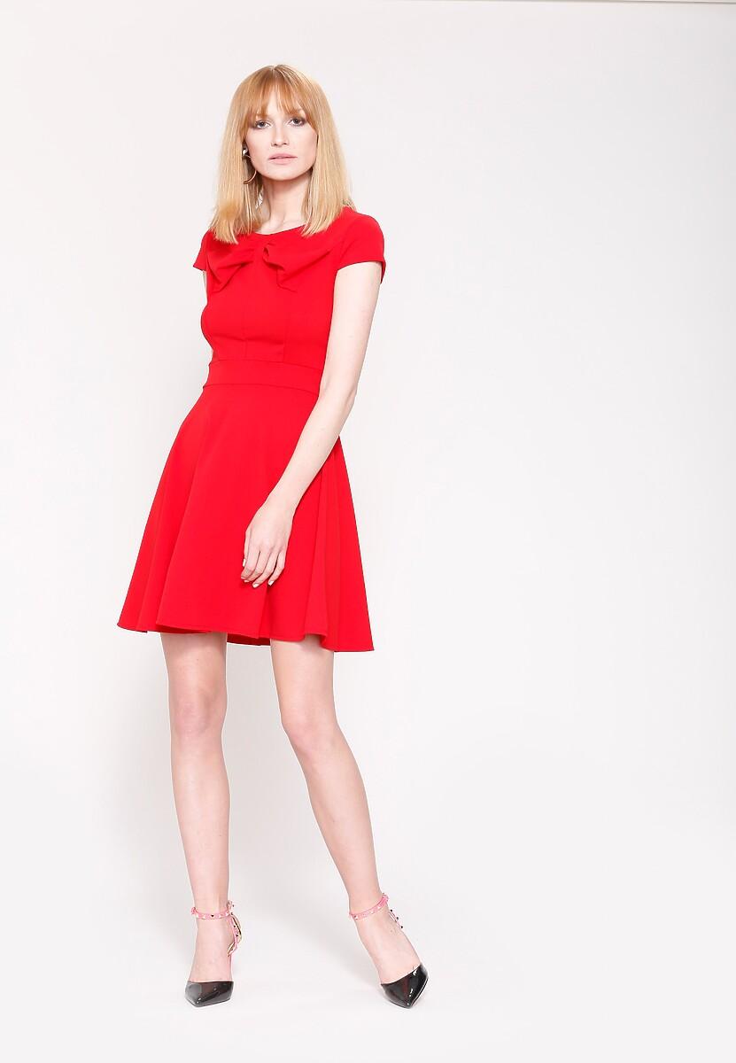Czerwona Sukienka Controlled Love