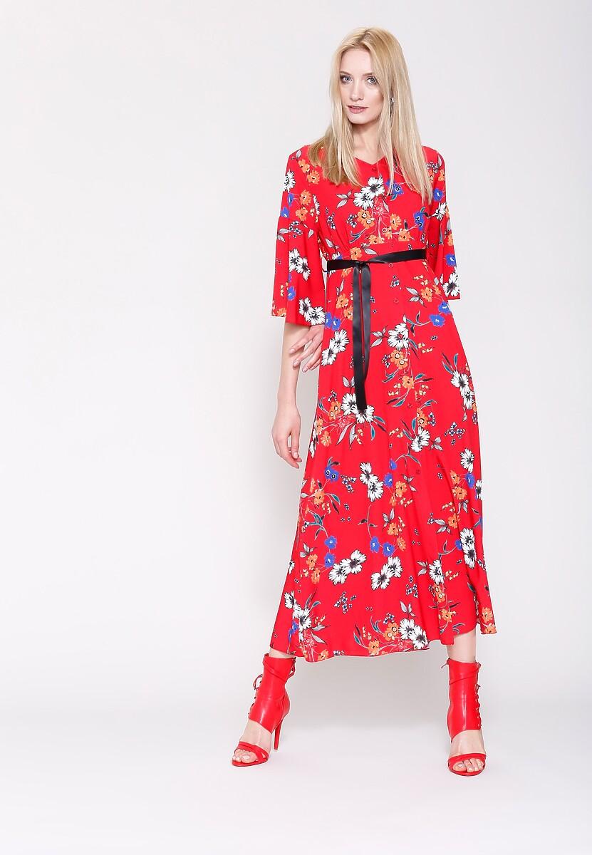 Czerwona Sukienka Cherry Land
