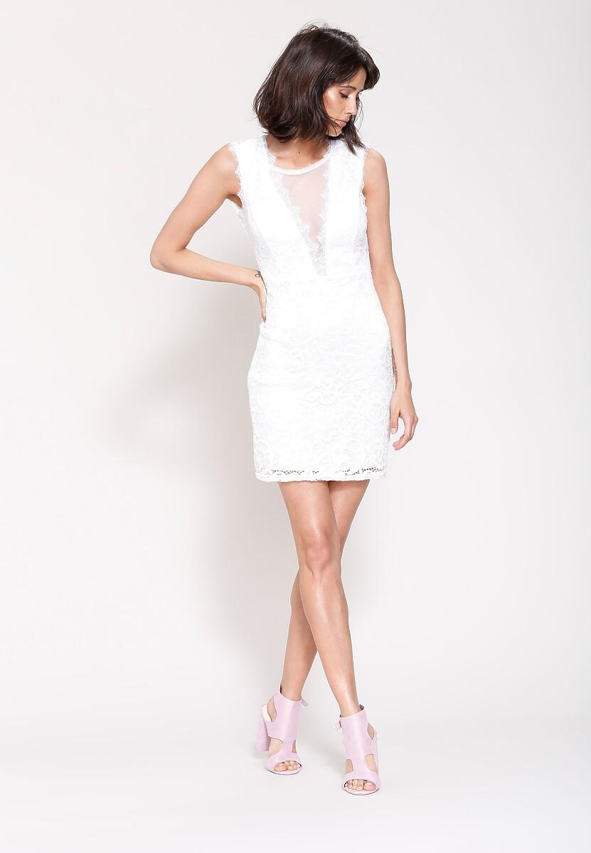 Biała Sukienka Take My Hand