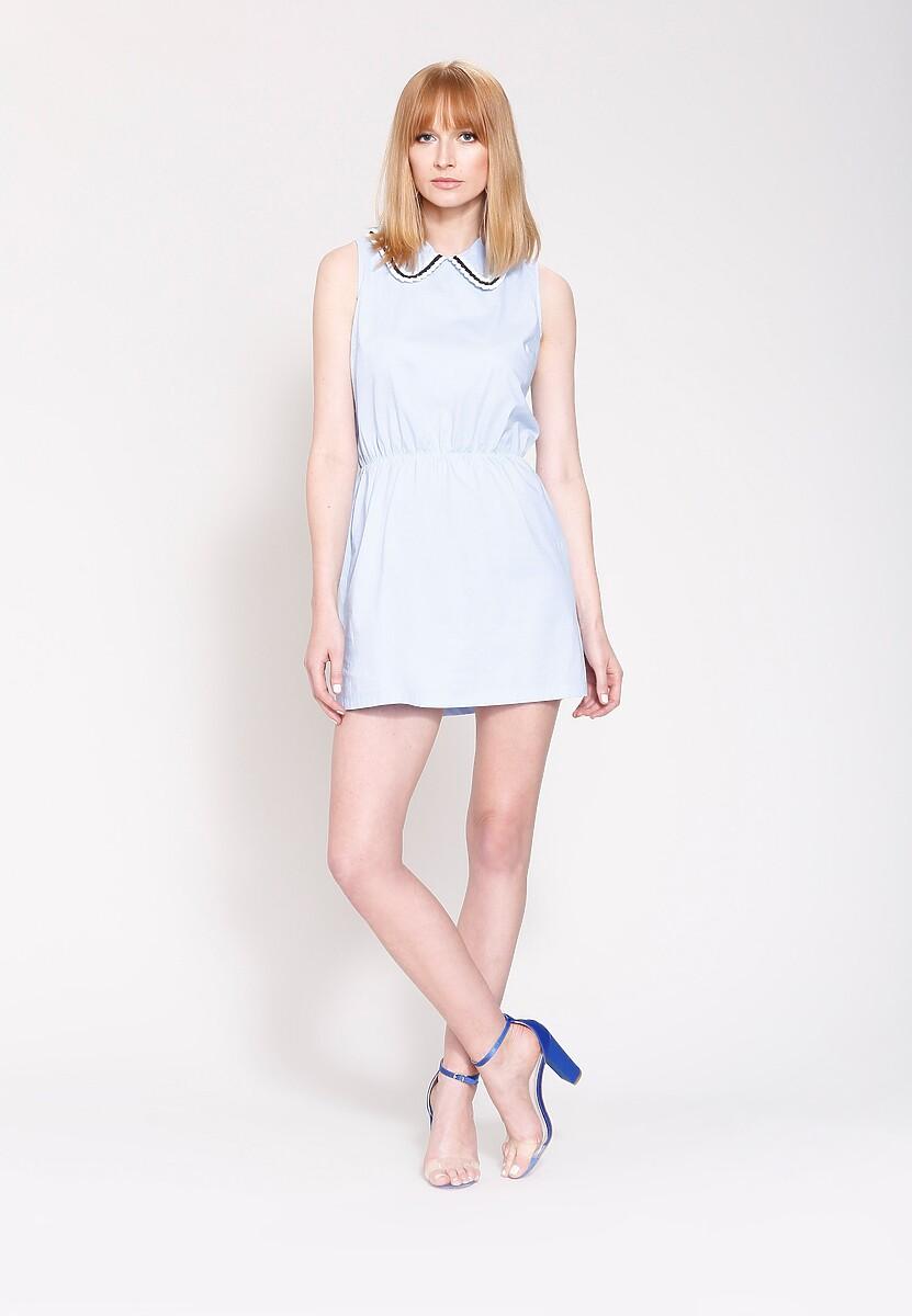Niebieska Sukienka Secret Void