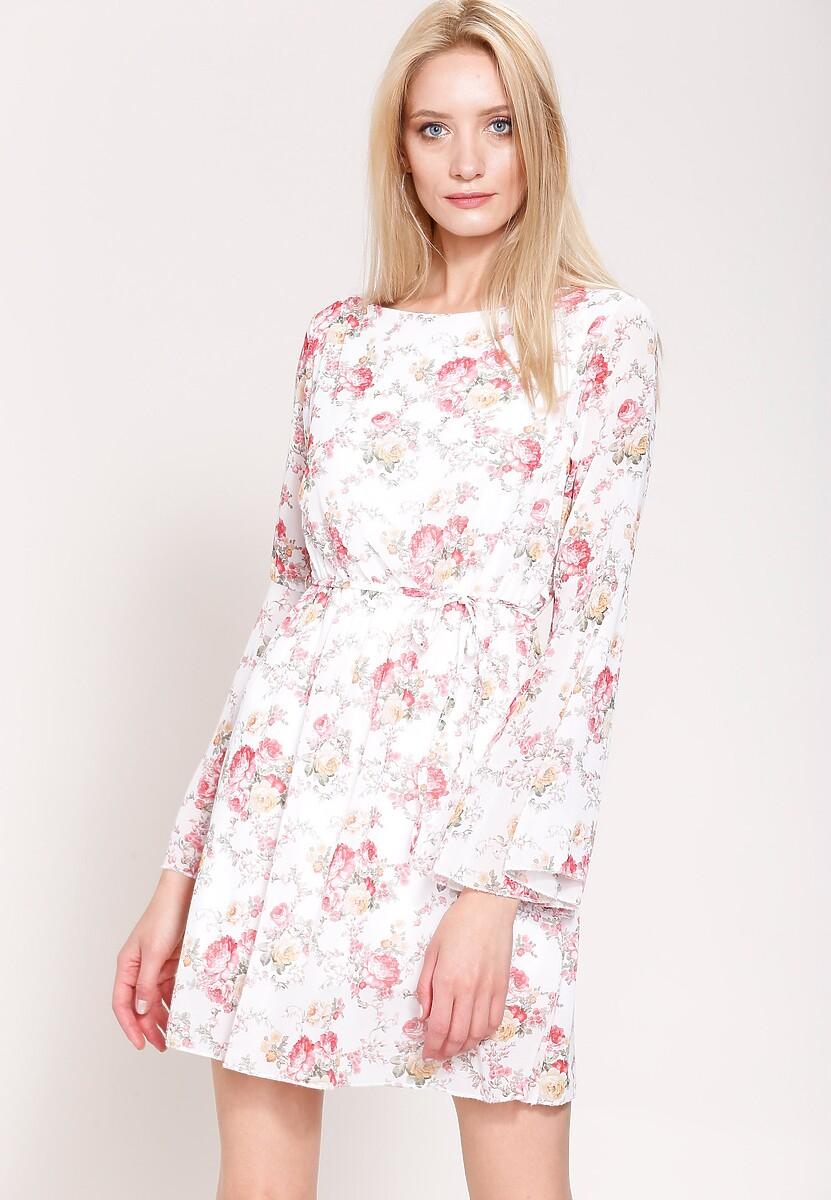 Biała Sukienka Be A Girl