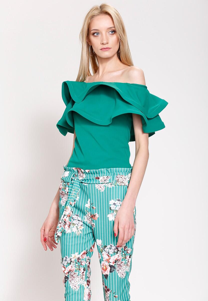 Zielone Spodnie Flower's Song
