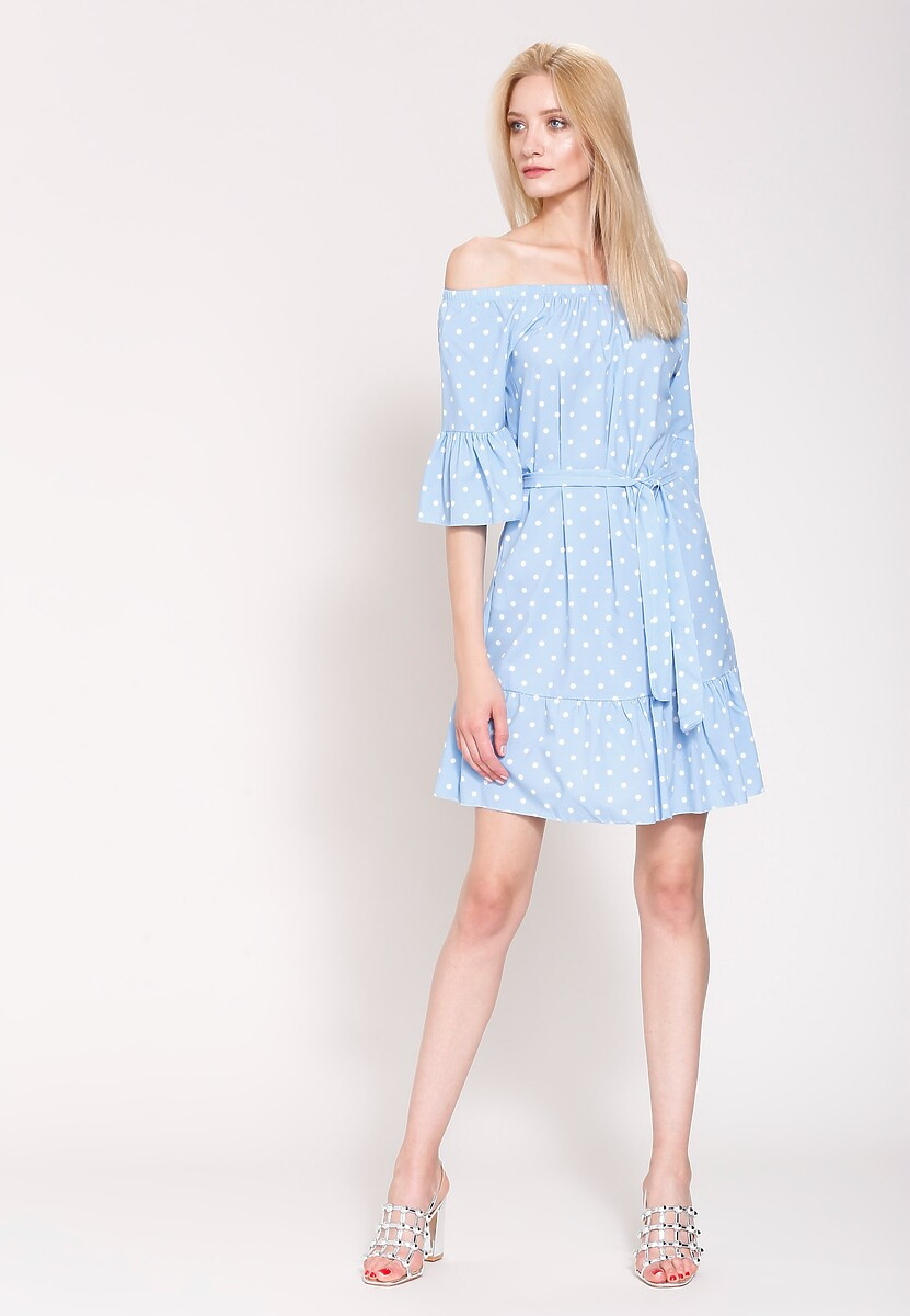 Jasnoniebieska Sukienka Arrogate