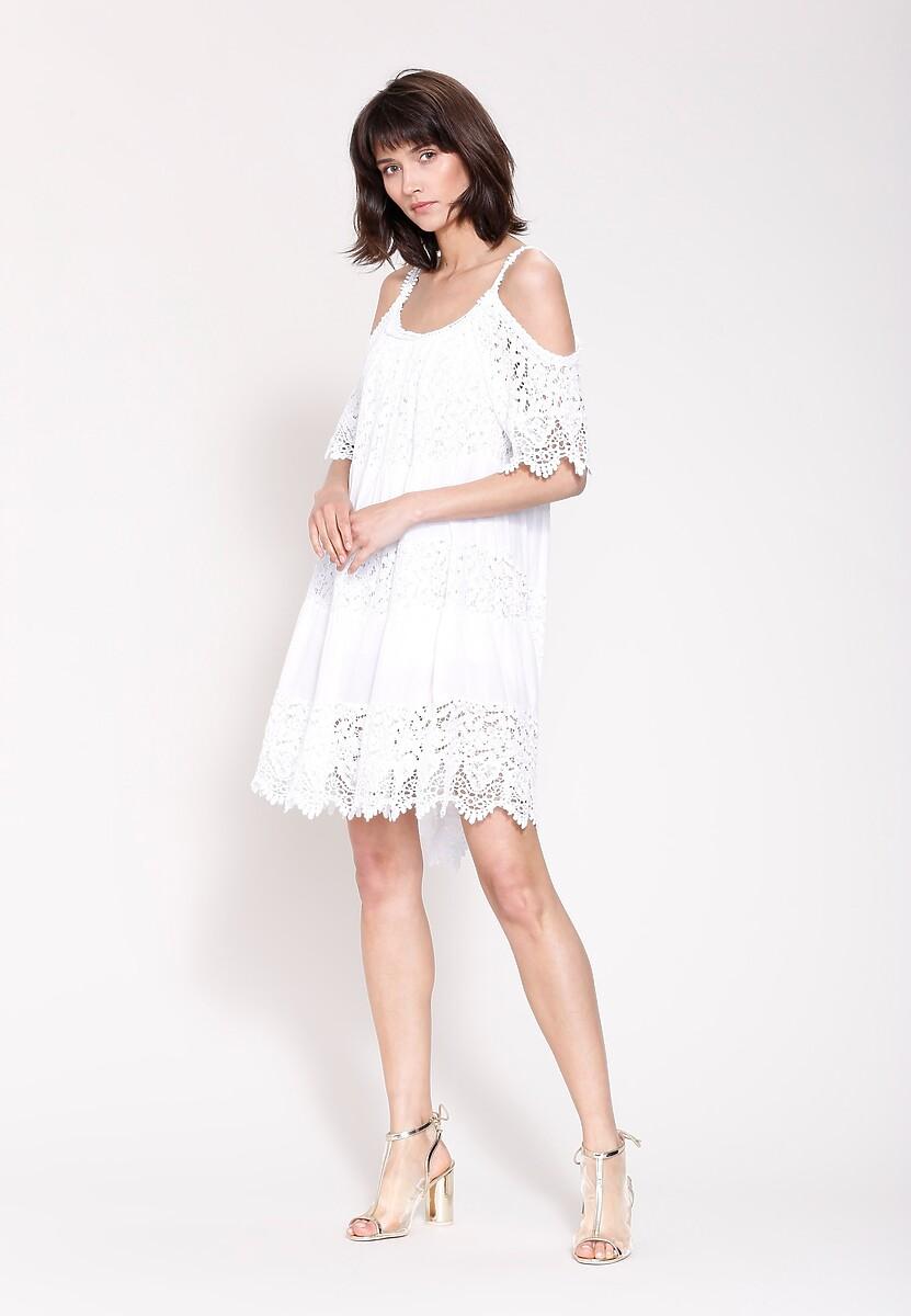 Biała Sukienka Since Yesterday