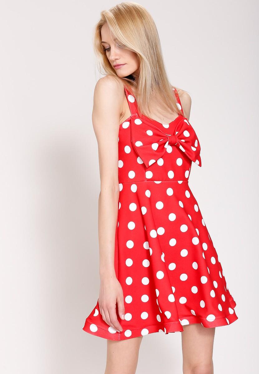 Czerwona Sukienka Precious Love