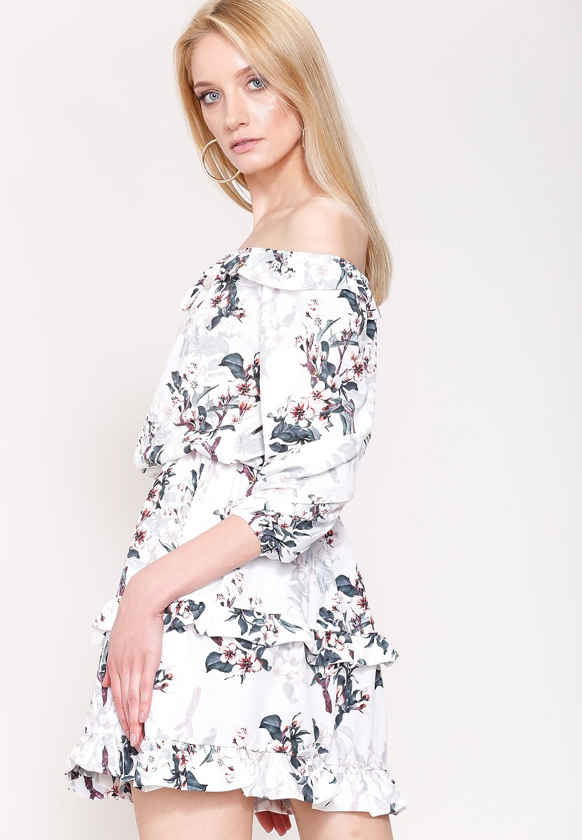 Biała Sukienka Honest