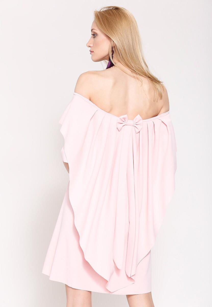 Różowa Sukienka Clap and Sing