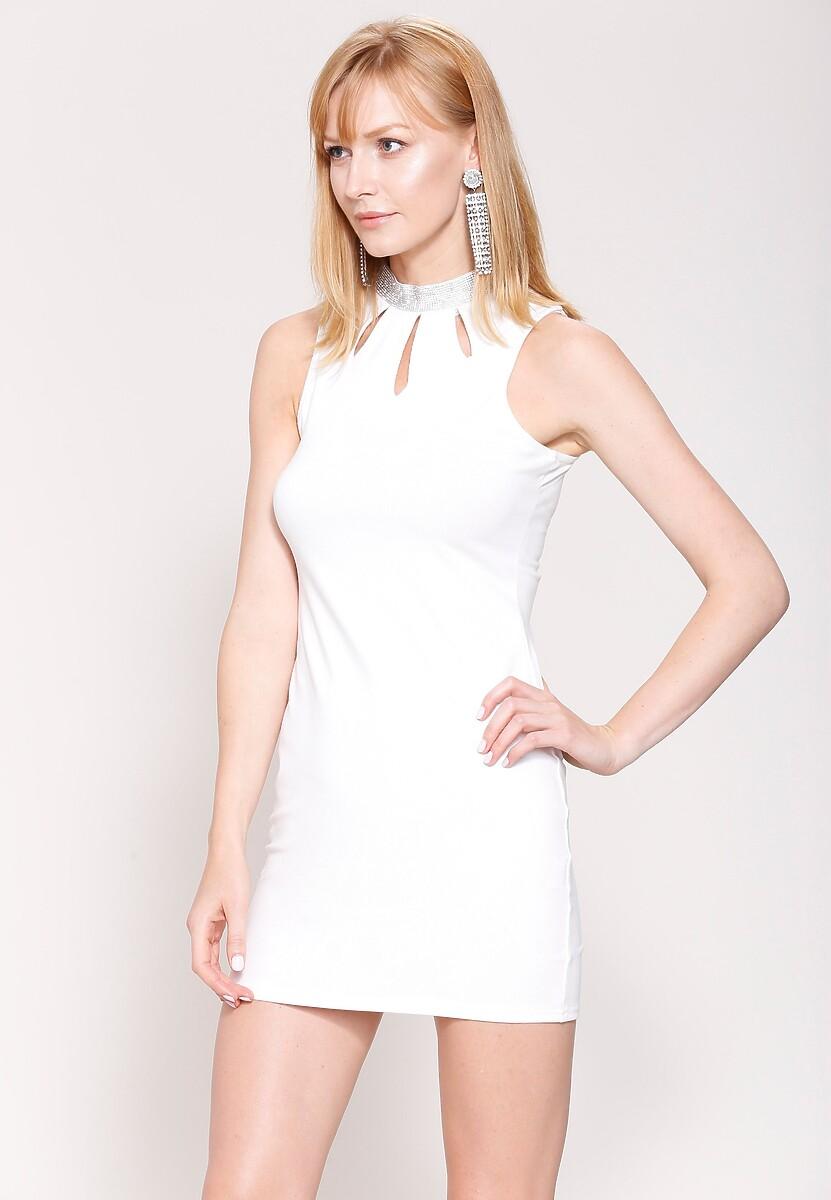 Biała Sukienka Show Off